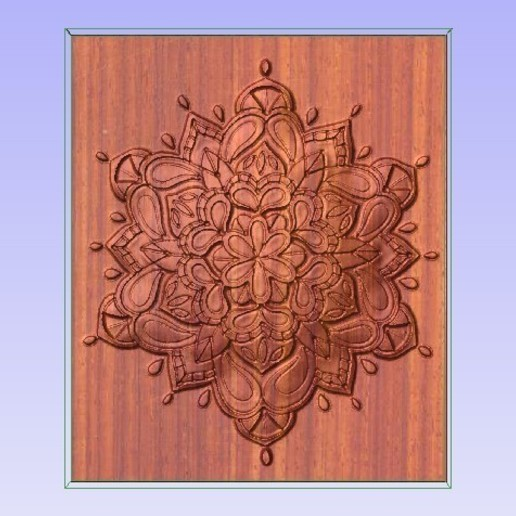 Download free 3D printer templates 3D Mandala, Account-Closed
