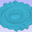 Download free 3D model Oval Design, Account-Closed