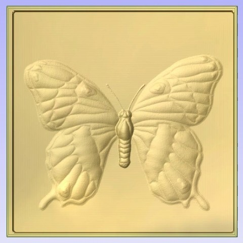 Download free 3D printer designs Butterfly, Account-Closed