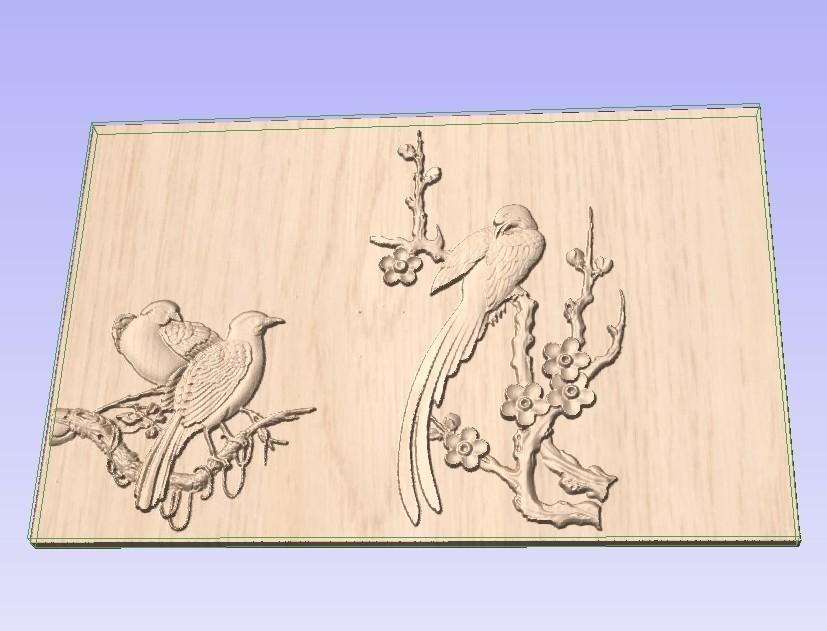 Birds.jpg Download free STL file Birds • 3D print model, Account-Closed