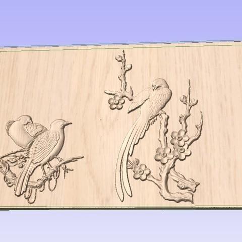 Télécharger fichier STL gratuit Oiseaux • Objet imprimable en 3D, Account-Closed