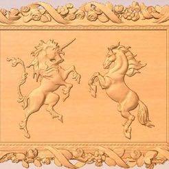 Download free 3D printing models Unicorn and Horse, Account-Closed