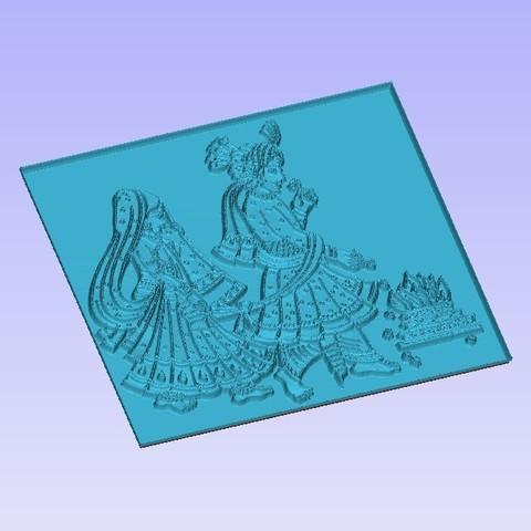 Hindu Ceremony2.jpg Télécharger fichier STL gratuit Cérémonie des fils de discussion • Objet pour impression 3D, Account-Closed