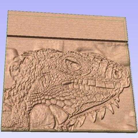 Lizard.jpg Télécharger fichier STL gratuit Lézard écailleux • Objet pour impression 3D, Account-Closed