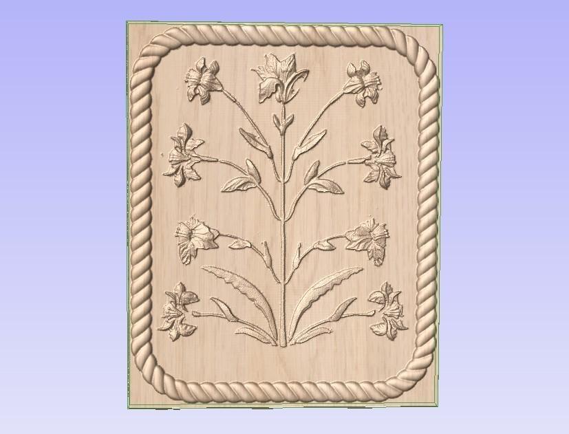 Flowers.jpg Télécharger fichier STL gratuit Floraison • Objet pour imprimante 3D, Account-Closed