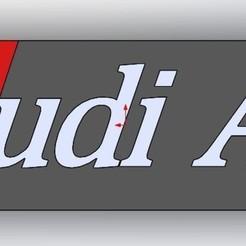 3D printing model Audi, RapidPrint