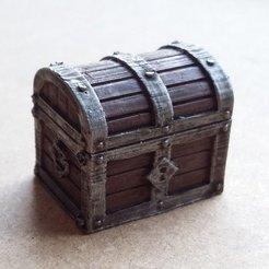 Descargar modelo 3D gratis Cofre para tesoros 2.0, Kimskell
