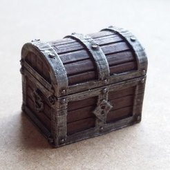 Free STL Tresure chest 2.0, Kimskell