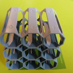 Free 3D print files Paint Rack Small, Kimskell
