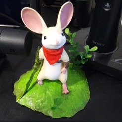 """3D print model Quill from Polyarc Game """"Moss"""", m0del3"""