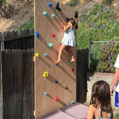 Free STL Kid Rock Wall Holds, sportguy3Dprint
