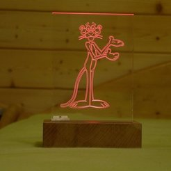 Free 3D printer designs LED lit engraving, sportguy3Dprint