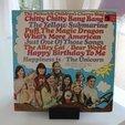 Free 3D model Ghostly Vinyl LP CD record stand, sportguy3Dprint