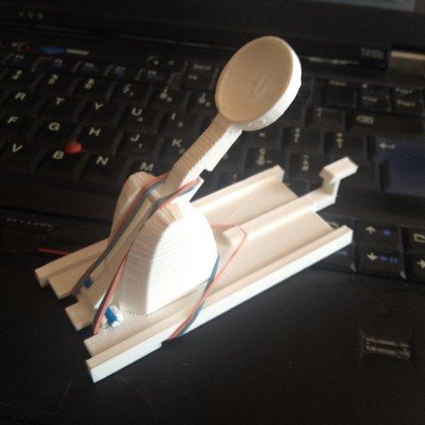 Télécharger fichier STL gratuit Mini Catapulte - Supports pour la base • Plan à imprimer en 3D, sportguy3Dprint