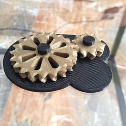Download free STL Herringbone-like gearbox, sportguy3Dprint