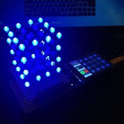 Download free 3D printer model LED Light Diffuser (for 3mm and 5mm LEDs), sportguy3Dprint