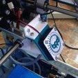 Download free STL files Arduino Materia 101 - Fan Guard With Logo, sportguy3Dprint