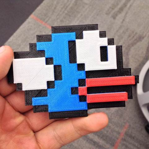 photo_3_display_large.jpg Download free STL file A Flappy Bird • Template to 3D print, sportguy3Dprint