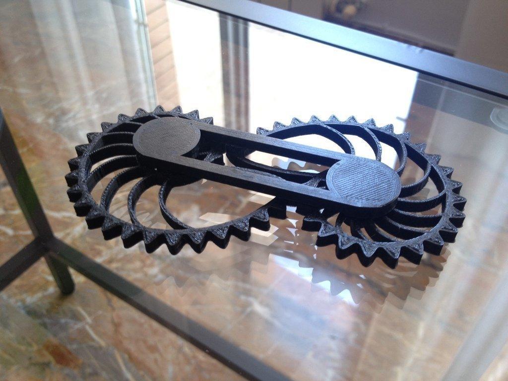 IMG_6494_display_large.JPG Télécharger fichier STL gratuit Nautilus Gears - Barre unilatérale avec capuchons • Modèle pour impression 3D, sportguy3Dprint