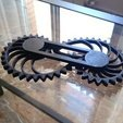 Télécharger fichier STL gratuit Nautilus Gears - Barre unilatérale avec capuchons, sportguy3Dprint