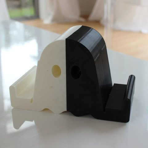 IMG_0423_display_large.JPG Download free STL file Ghostly Vinyl LP CD record stand • Model to 3D print, sportguy3Dprint