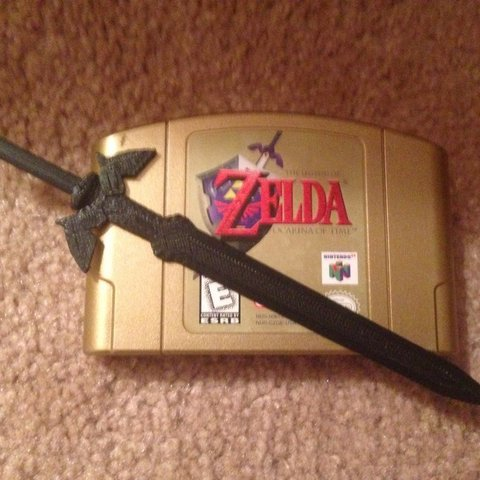 Archivos 3D gratis Zelda Master Sword, Linshell3Dgirl