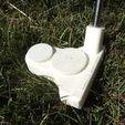 Télécharger plan imprimante 3D gatuit Golf Putter, Linshell3Dgirl