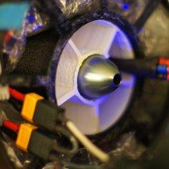 Fichier 3D gratuit Boîtier de ventilateur électrique de 70 mm avec conduit d'air, Linshell3Dgirl