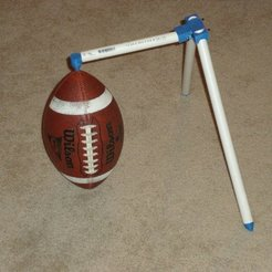 Free STL Football Kicking Tee, Linshell3Dgirl
