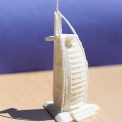 Download free 3D print files Burj Al Arab, Linshell3Dgirl
