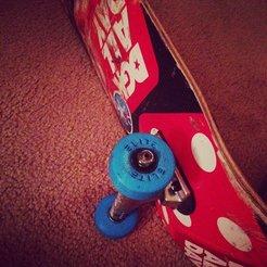 Free 3D model Skateboard Wheels, Linshell3Dgirl