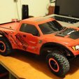 Free 3D print files Traxxas Slash 2WD body mount extenders for Ford Raptor body, Mathorethan
