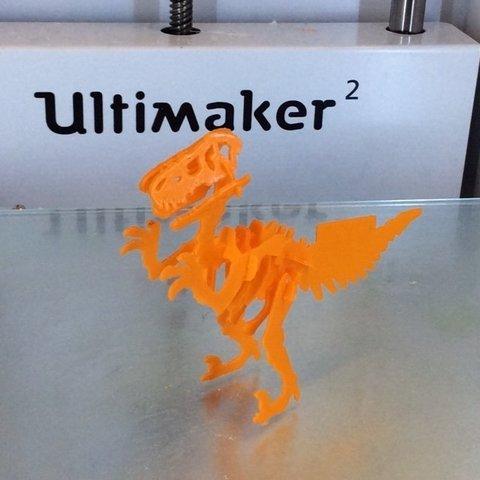 3cardsize_display_large.jpg Télécharger fichier STL gratuit Carte de visite Velociraptor • Design imprimable en 3D, Mathorethan