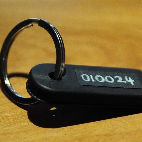 Télécharger plan imprimante 3D gatuit Porte-clés RFID vierge, Mathorethan