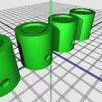 Download free 3D printer designs 4 cylinder motor, Mathorethan