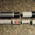 Télécharger fichier STL gratuit Sabre laser avec composants internes mégaprojet !, Mathorethan