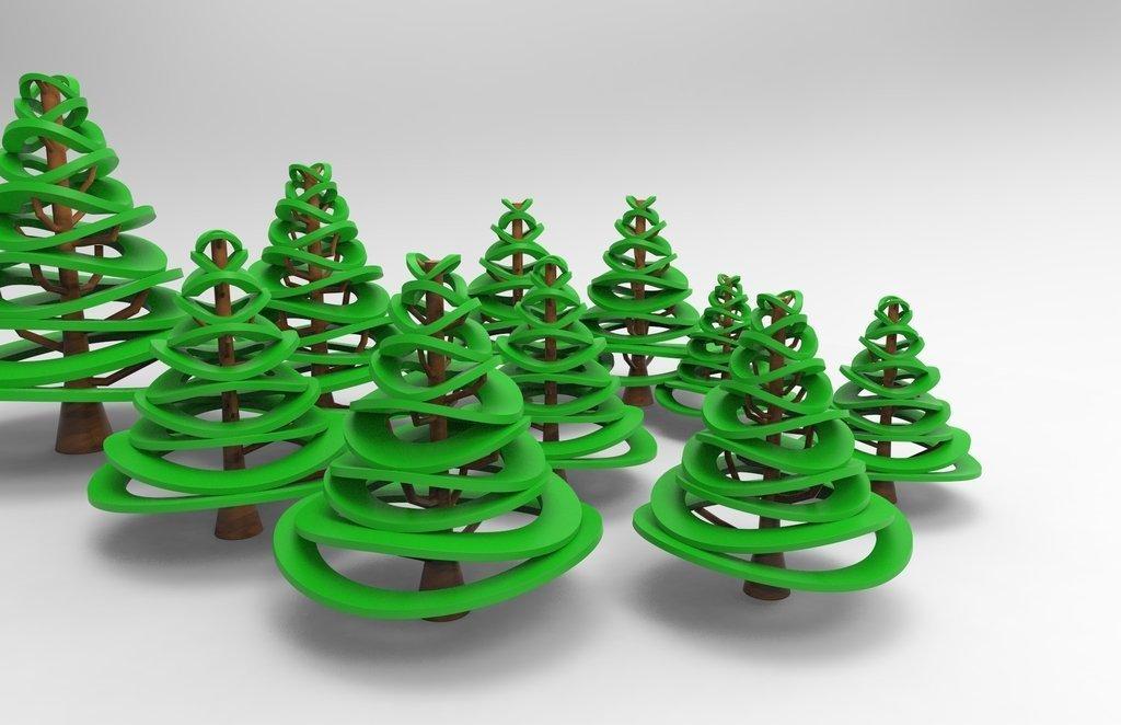 5c4c60150fdc13a4c62afb94fd6830ae_display_large.jpg Télécharger fichier STL gratuit Conception d'arbre de Noël • Plan pour imprimante 3D, ernestwallon3D