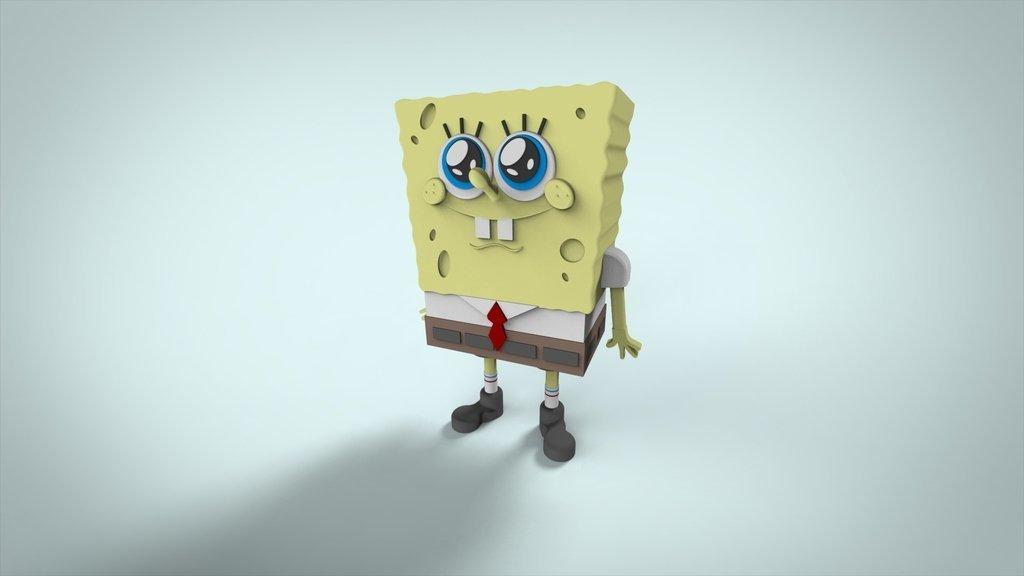 Test2_display_large.jpg Download free STL file The famous sponge. • 3D printing model, ernestwallon3D