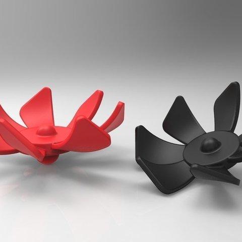 Télécharger modèle 3D gratuit Toupie Winggy, ernestwallon3D