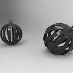 Download free STL file Round Pendant / Keychain, ernestwallon3D