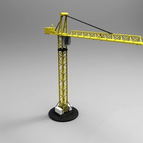 Download free STL Multi-Parts Crane, ernestwallon3D