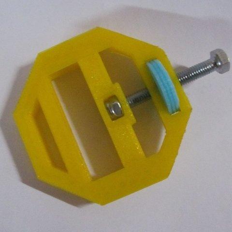 Free STL Thumbscrew Clamp, ernestwallon3D