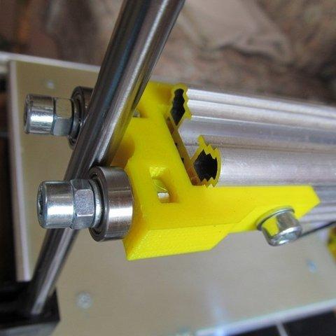 Télécharger fichier 3D gratuit K8200 Pince à roulement axe Z 605 K8200, ernestwallon3D