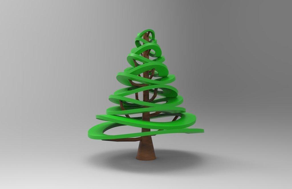 ec5bbd6d2f2f8ca580409fbcd1e0650e_display_large.jpg Télécharger fichier STL gratuit Conception d'arbre de Noël • Plan pour imprimante 3D, ernestwallon3D