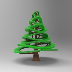 Free 3D model Christmas Tree Design, ernestwallon3D