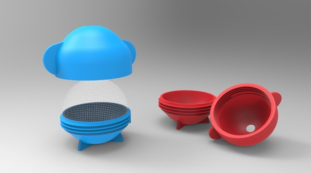c9e4570b2e2077e86120f5a7e4d0b90a_display_large.jpg Télécharger fichier STL gratuit Moule à boule de glace • Modèle pour imprimante 3D, ernestwallon3D