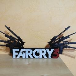Télécharger fichier 3D gratuit Far cry 3, gaetangelineaud