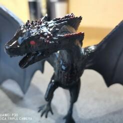 IMG_20201224_100713.jpg Télécharger fichier STL gratuit Dragon • Plan à imprimer en 3D, gaetangelineaud
