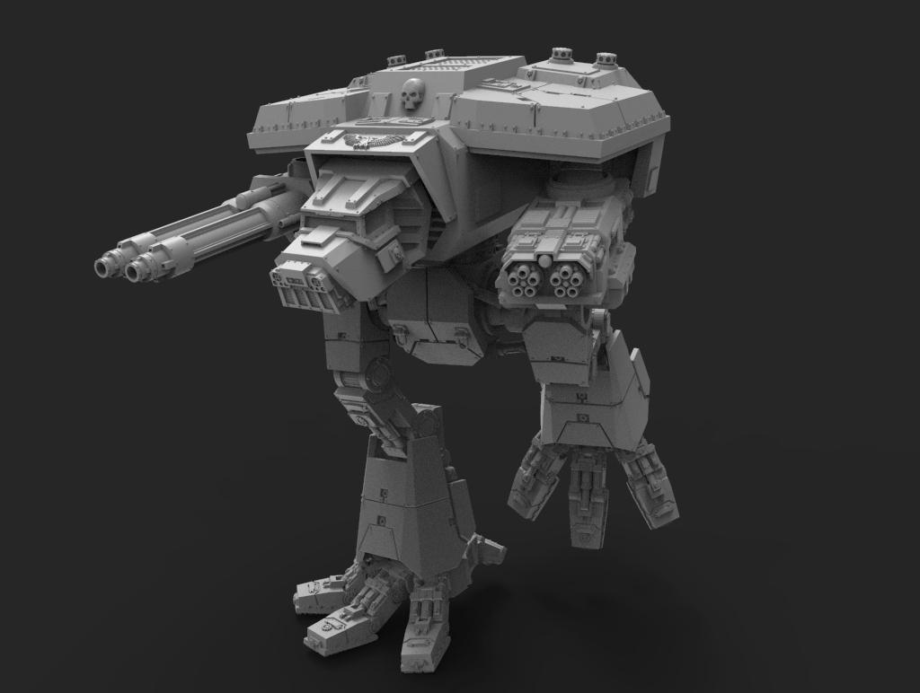 untitled.155.jpg Télécharger fichier STL gratuit Lucius Wardog Titan • Plan pour imprimante 3D, jimsbeanz