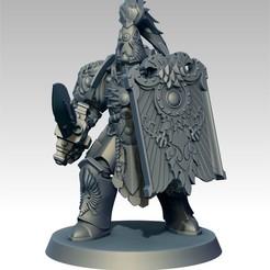 Descargar modelos 3D gratis Guardián de la natilla con espada y tabla, jimsbeanz
